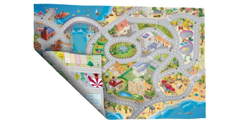 House of Kids verkeerskleed Reverso SS/C road 100 x 150 cm