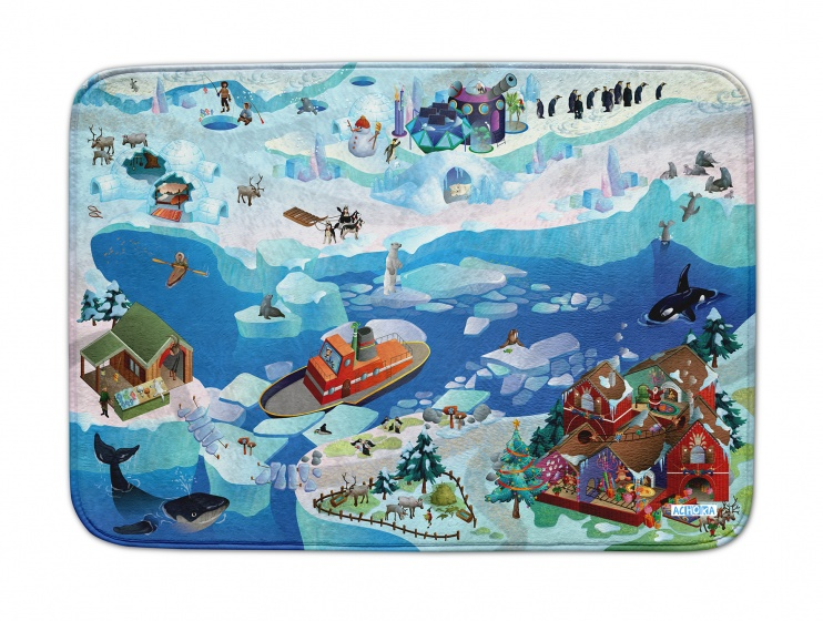 House of Kids Speelkleed Artic us Connect 100 x 150 cm