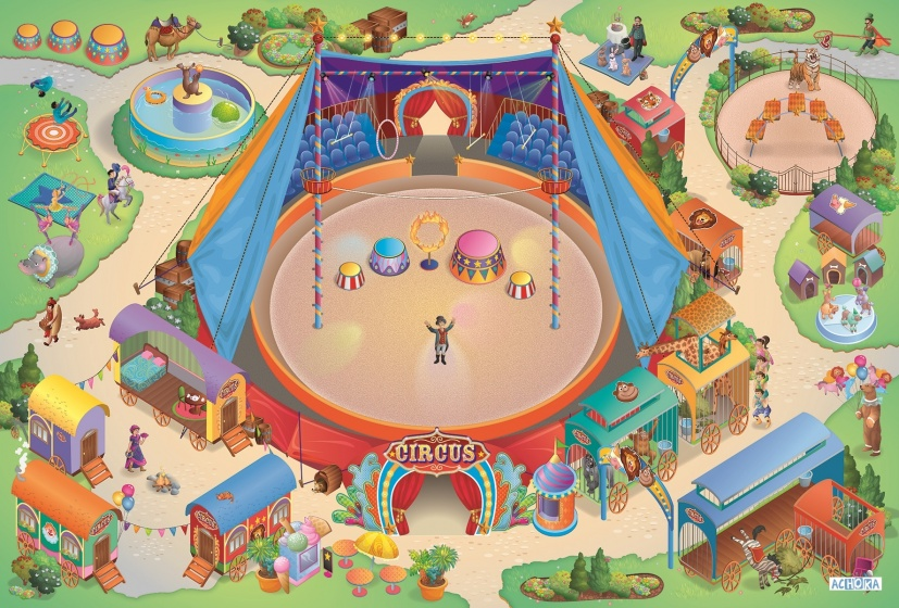 House of Kids Speelkleed Circus us Connect 100 x 150 cm