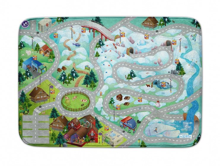 House of Kids Speelkleed Mountain us Connect 100 x 150 cm
