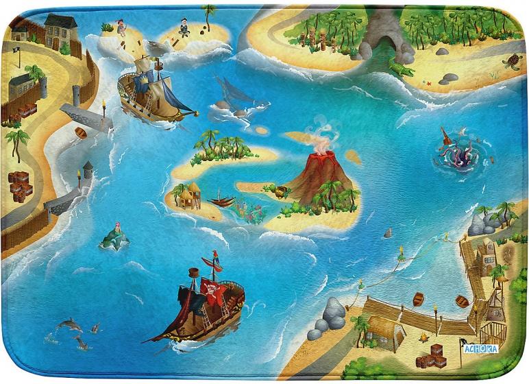 ACHOKA Speelkleed Pirate 100 x 150 cm