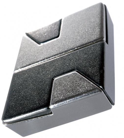 Huzzle breinbreker cast diamond zilver
