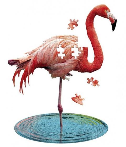 Madd Capp puzzel flamingo roze 100 stukjes