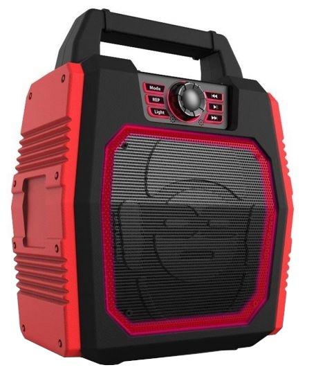 iDance bluetooth speaker Party Box Blaster rood 43 cm kopen