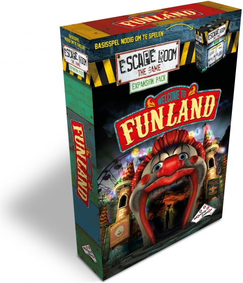 Identity Games Escape Room The Game Expansion: Welcome to Funland