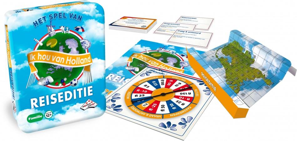 Identity Games Ik hou van Holland reiseditie unisex 114 delig