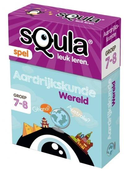 Squla Aardrijkskunde Kaartspel