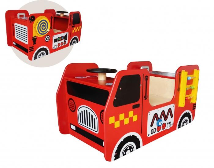 I'm Toy Activity Houten Brandweerwagen