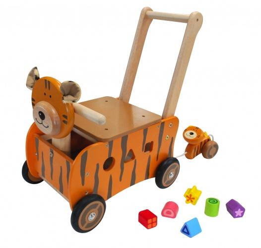 I'm Toy Loopduwwagen Tijger