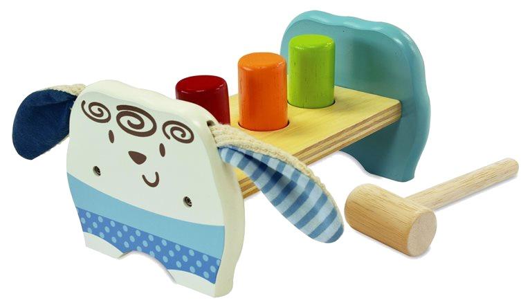 I'm Toy Schaap hamerbank ballen 5 delig multicolor