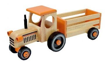 I'm Toy Tractor met aanhanger 52 x 20 x 21 cm hout
