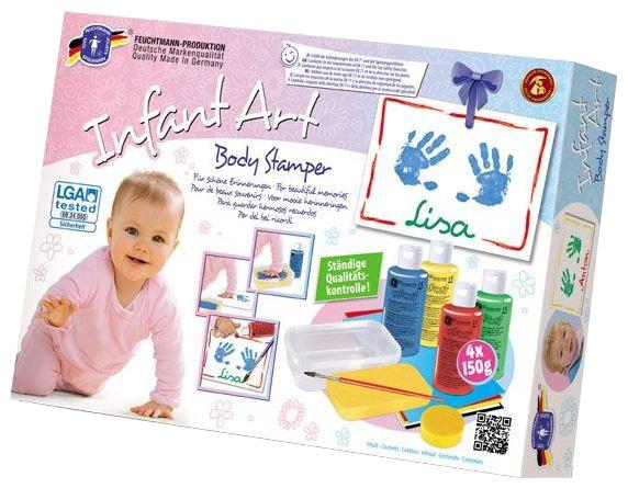 Feuchtmann Infant Art Body Stamper: handafdruk stempelen