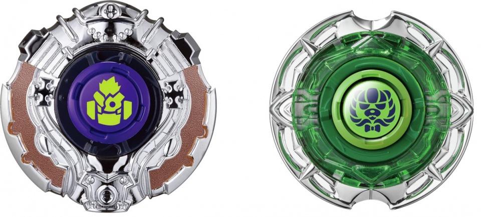 Infinity Nado tollen set Fist vs. Shadow 5,5 cm groen/zilver