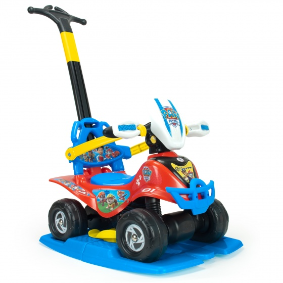 Injusa loopauto Buddy Paw Patrol 95 cm rood/blauw