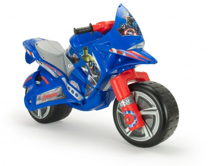 Injusa loopmotor Avengers 101,5 cm blauw/rood
