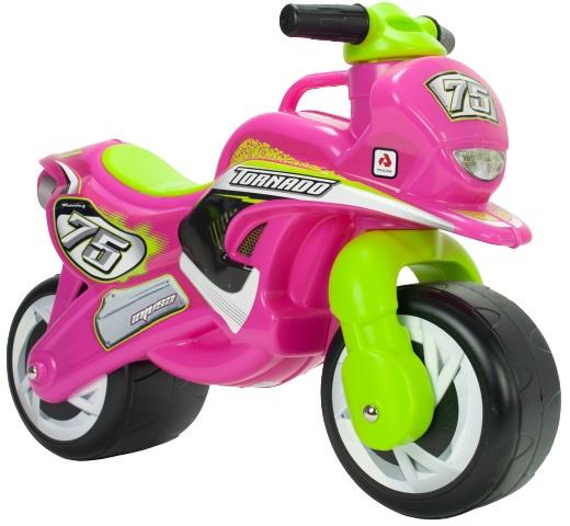 Injusa loopmotor Tundra Tornado meisjes 69 cm roze/groen