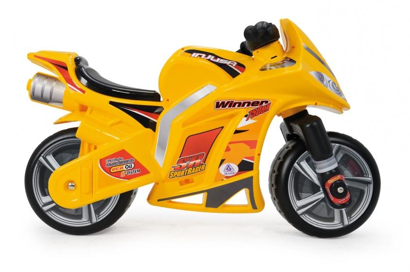 Injusa loopmotor Winner 99 cm geel