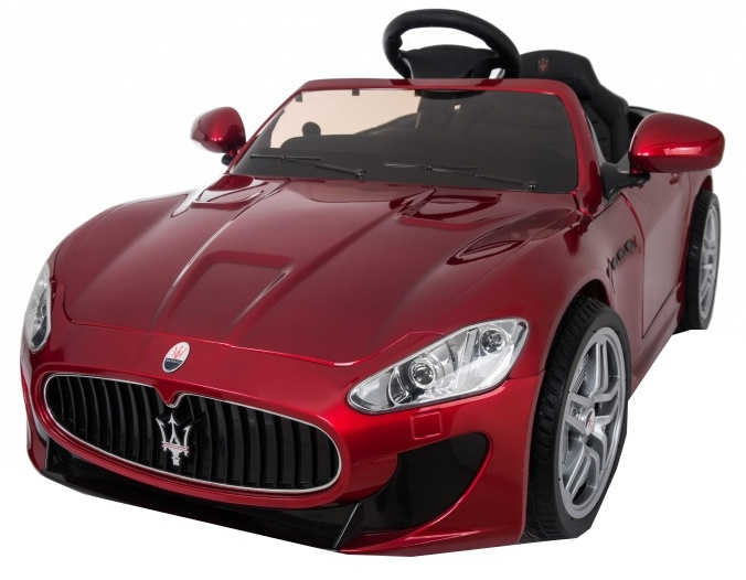 RunRunToys Maserati accuvoertuig 12 Volt R/C rood