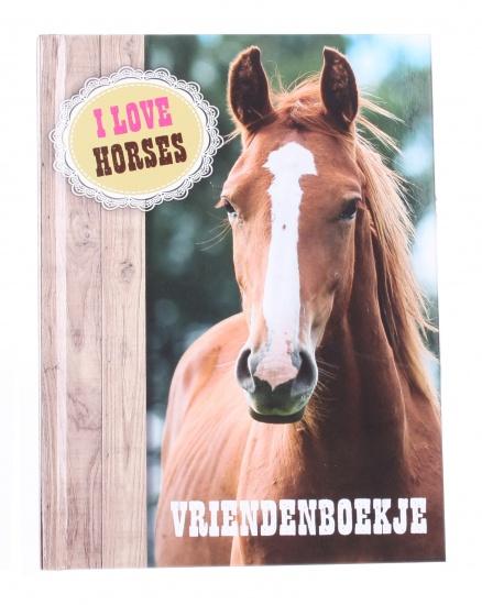 Interstat paarden vriendenboekje