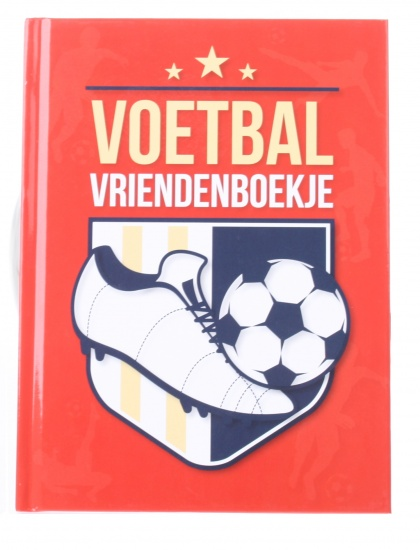 Interstat voetbal vriendenboekje