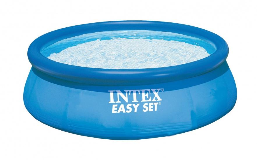 Intex Opblaaszwembad Easy Set Pool 305 x 76 cm blauw