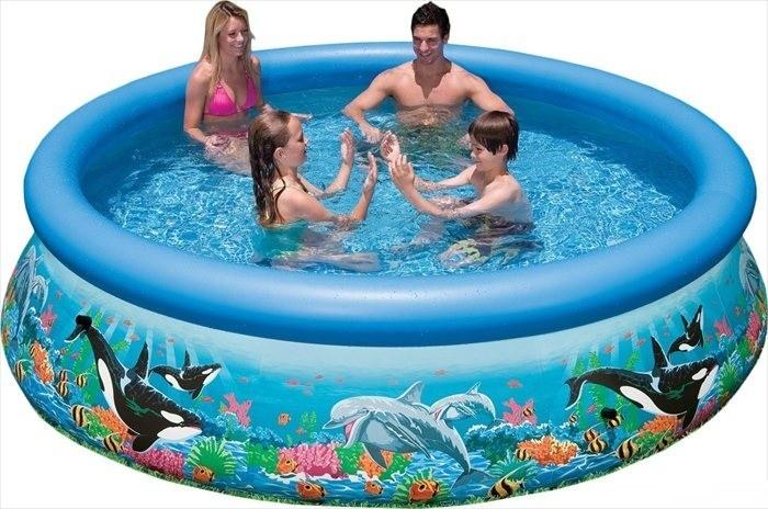 Intex Opblaaszwembad Ocean Reef Easy Set Pool 305 x 76 cm