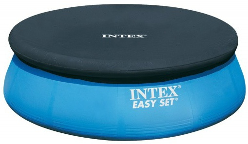 Intex Afdekzeil Easy Set Pool donker blauw 366 cm