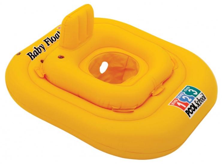 Intex Baby Zwemband Deluxe geel 79 x 79 cm