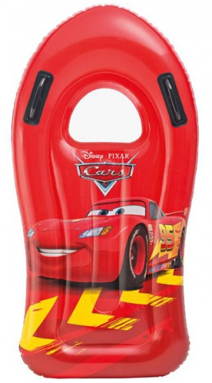 Intex bodyboard Disney Cars rood 108 x 57 cm