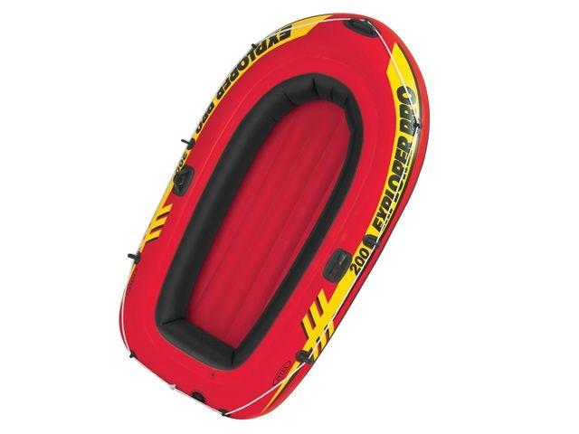 Intex Opblaasboot Explorer Pro 200 196 x 102 x 33 cm rood