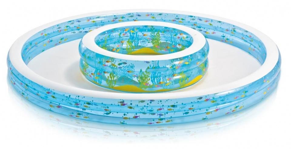 Intex kinderzwembad Wishing Well Pool blauw 279 x 36 cm