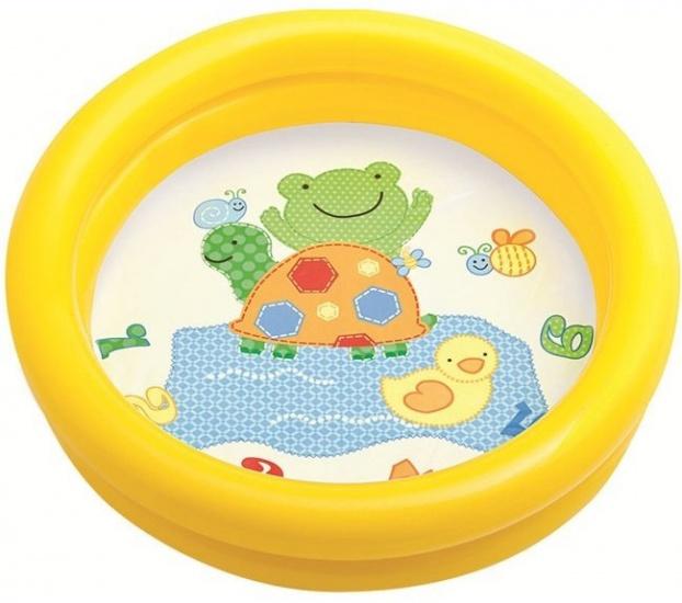 Intex opblaasbaar babybadje geel 61 cm x 15 cm