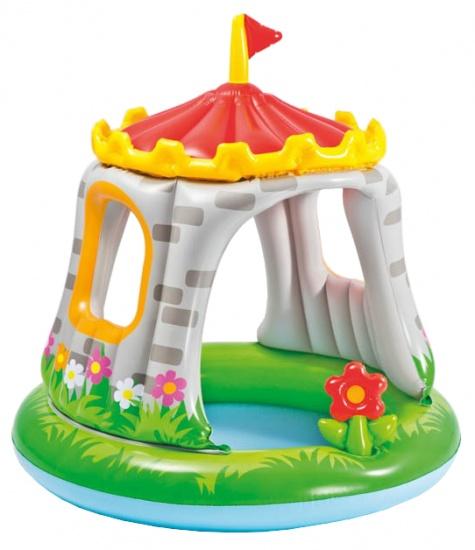 Intex Opblaasbaar babybadje kasteel 102 x 89 cm