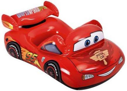 Intex opblaasbare auto Disney Cars rood 109 x 66 cm