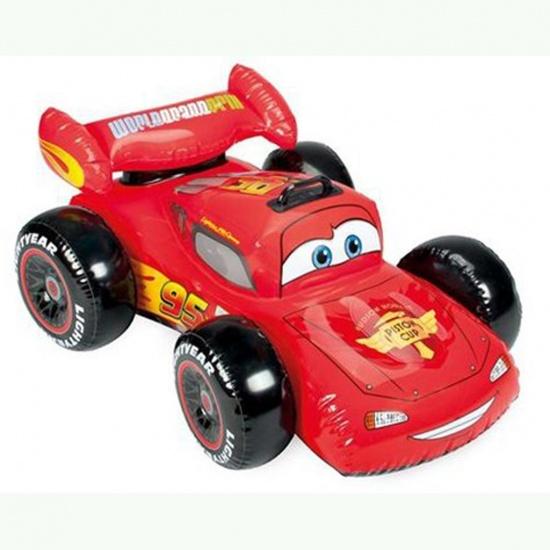 Intex opblaasbare auto rood 107 x 71 cm