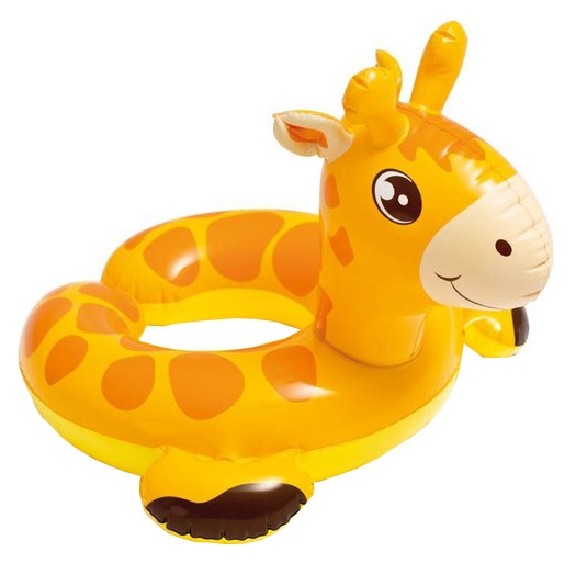 Intex opblaasbare giraffe oranje 24 cm