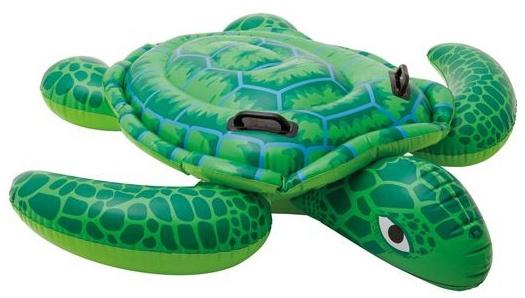 Intex Opblaasbare Schildpad groen 191 x 170 cm
