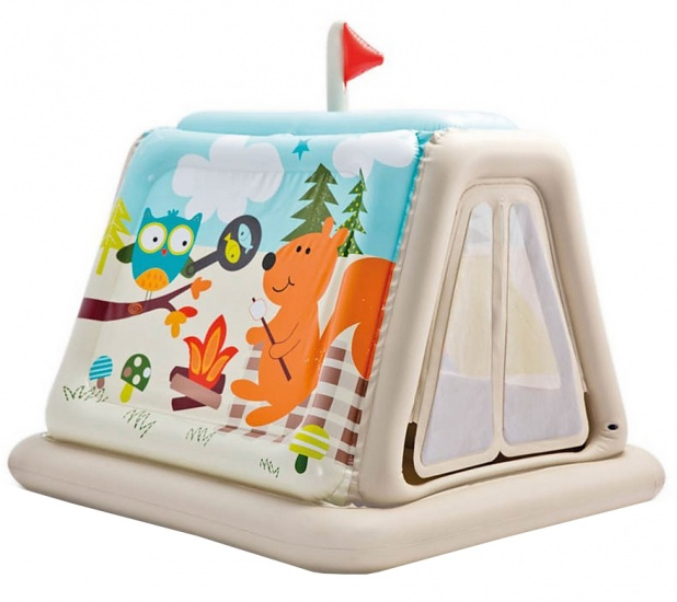 Intex Opblaasbare Speeltent Animal Trails 127 x 112 x 116 cm