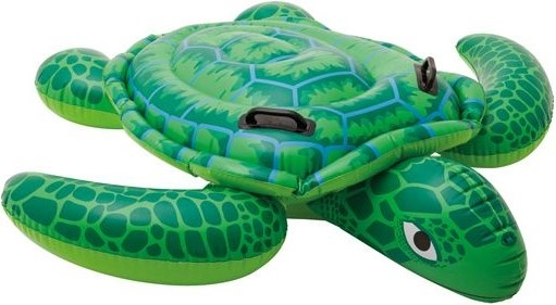 Intex Opblaasdier zeeschildpad ride on 150 x 127 cm