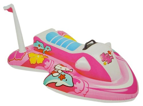 Intex Opblaasvoertuig Hello Kitty waterscooter 117 x 77 cm
