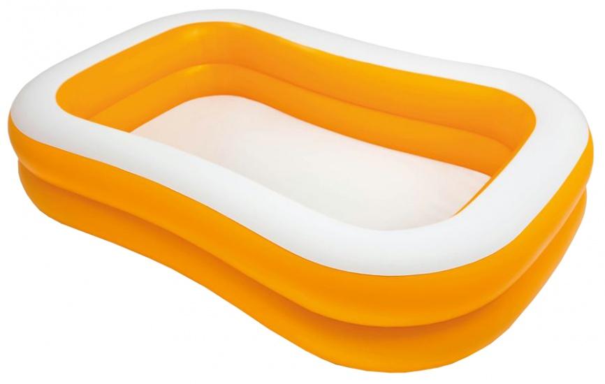 Intex Opblaaszwembad oranje 229 x 147 x 46 cm