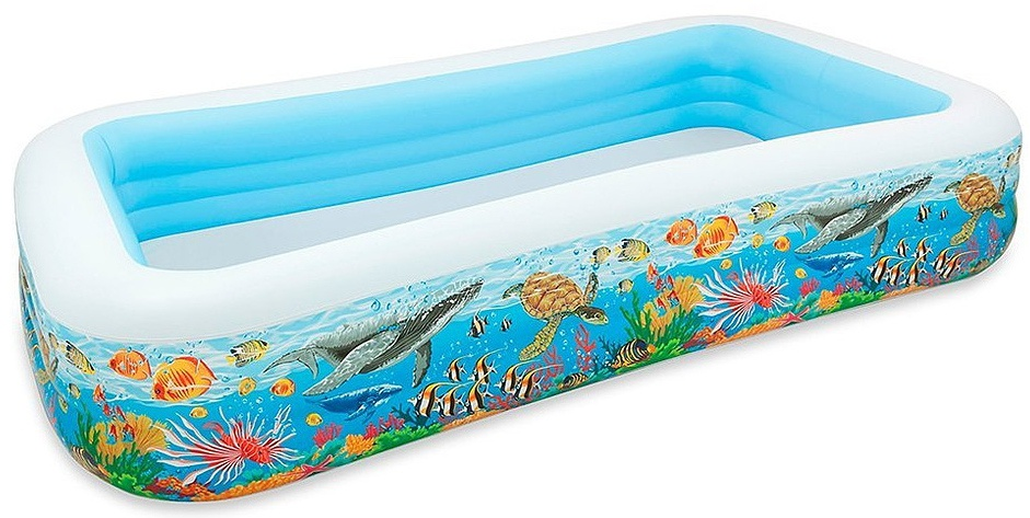Intex opblaaszwembad Tropical 305 x 183 x 56 cm