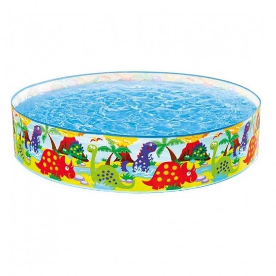 Intex opzetzwembad Happy Animals blauw 122 x 25 cm