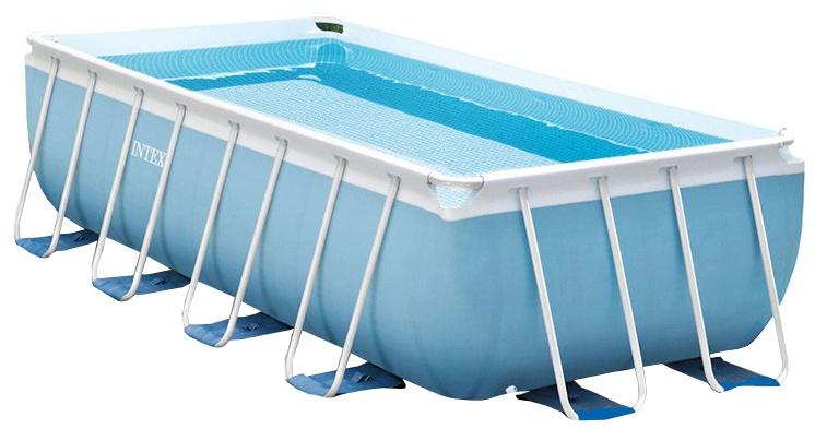Intex opzetzwembad Prism rechthoek blauw 300 x 175 x 80 cm