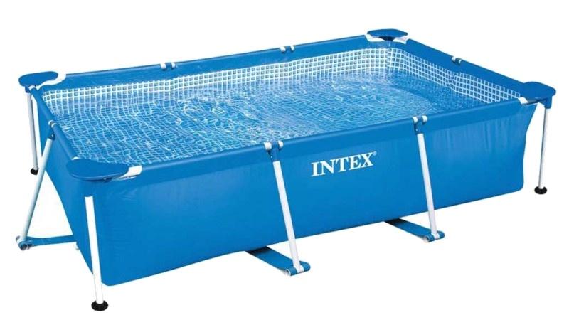 Intex opzetzwembad rechthoek 220 x 150 x 60 cm