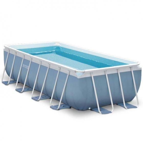 Intex prism frame opzetzwembad met accessories 732 x 132 for Opzet zwembad