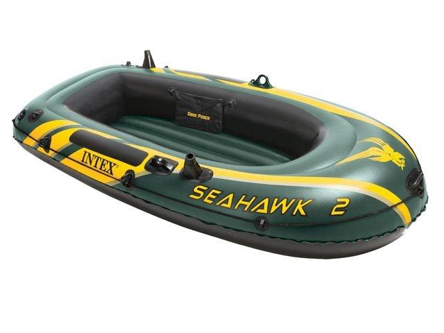 Intex Opblaasboot Seahawk voor 2 personen 236 x 114 x 41 cm