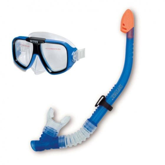 Intex Snorkelset Reef Rider unisex blauw