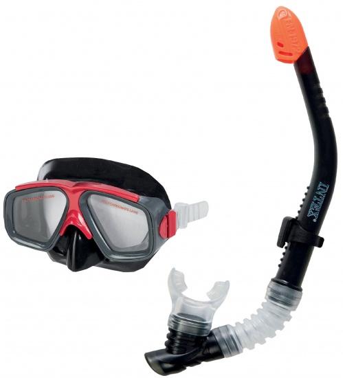Intex Snorkelset Surf Rider unisex zwart