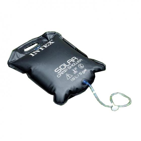 Intex solar douchezak 19 liter 65 cm zwart kopen